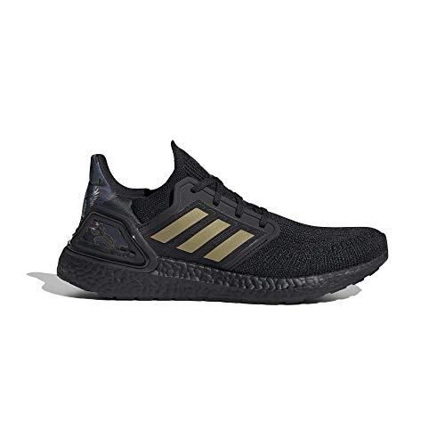 adidas Ultraboost 20 Zapatillas de Running Hombre Negro, 37 1 3