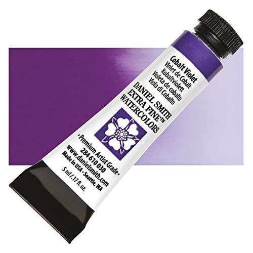 DANIEL SMITH Extra Fine Watercolor Paint, 5ml Tube, Cobalt Violet, 284610030