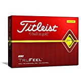 Titleist TruFeel Golf Balls, Yellow, (One Dozen)