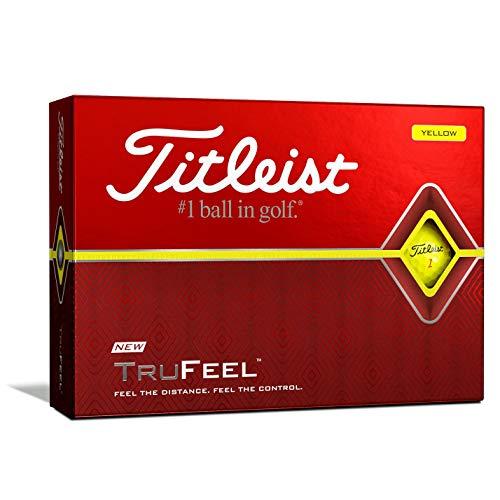 TITLEIST Trufeel Golfbälle - Gelb