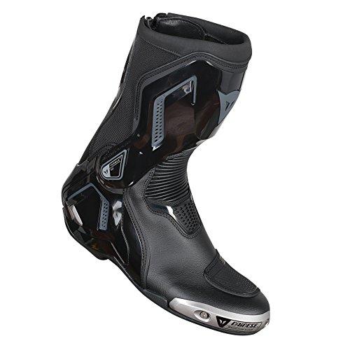 Dainese-TORQUE D1 OUT Stiefel, Schwarz/Anthrazit, Größe 45