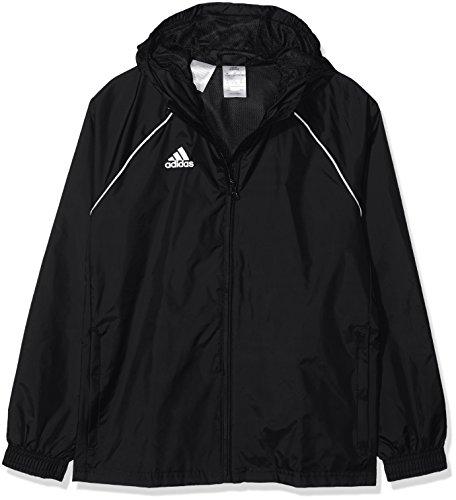 adidas Kinder Core18 RN Jkt Y Jacke, schwarz/weiß, 128*
