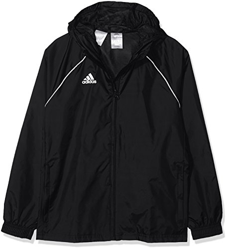 adidas Kinder Core18 RN Jkt Y Jacke, schwarz/weiß, 140