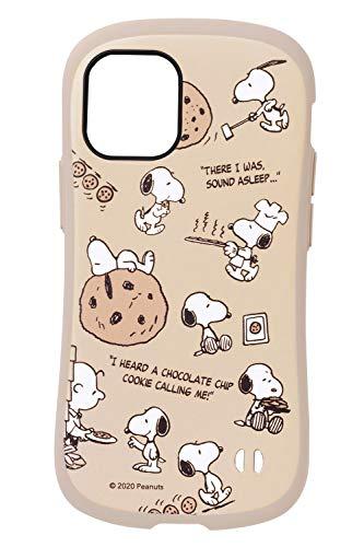 iFace First Class Cafe スヌーピー iPhone 12 mini ケース iPhone2020 5.4インチ [チョコチップクッキー]