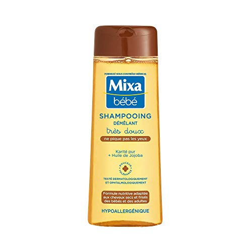 Mixa Bébé - Shampooing Karité Démêlant Très Doux - 250 ml