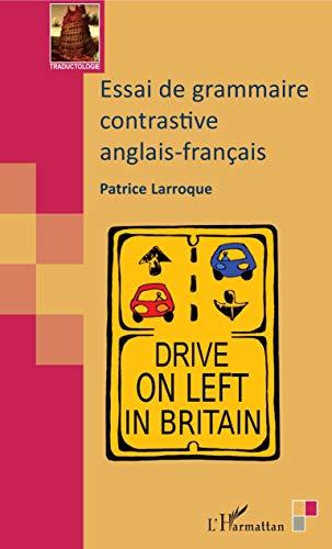 Essai de grammaire contrastive anglais-français PDF Books