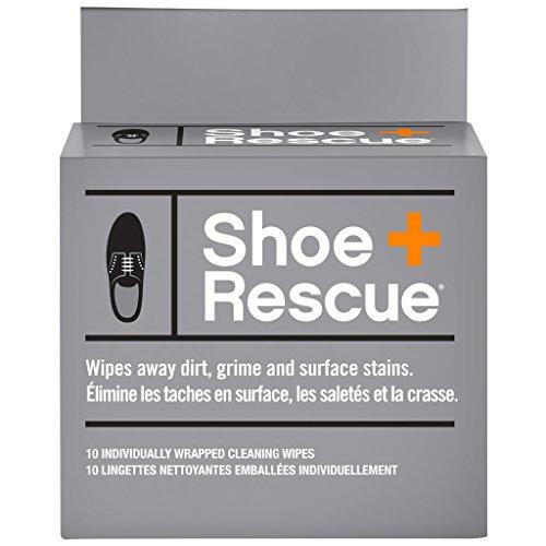 ShoeRescue جميع الطبيعية تنظيف مناديل للجلود