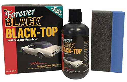 Forever Car Care Products FB813 Black Black Top Gel and Foam Applicator