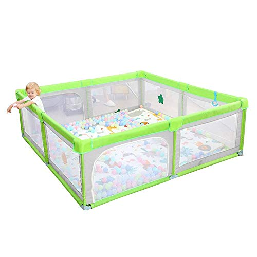Best Review Of Z-SEAT Large Baby Playpen, Activity Center for Toddler, Indoor and Outdoor Safety Pla...