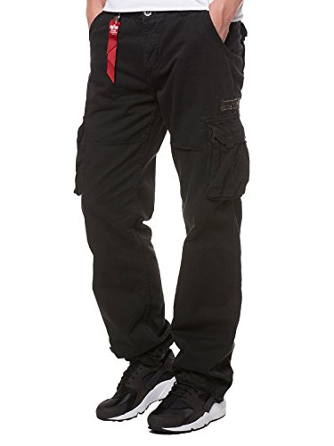 Alpha Industries Jet Hose Schwarz 34