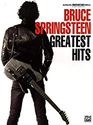 Bruce springsteen: greatest hits (tab) guitare