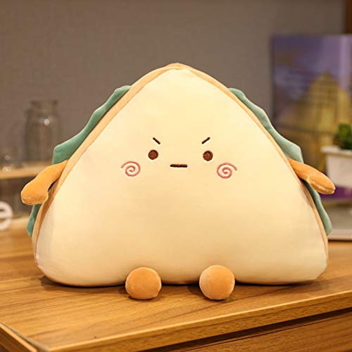 Kids Toys for 2+ Year Old Creative Sandwich Bread Plush Pillow Soft Filling Baby Bread Pillow Cute Soft Doll Birthday Gift for Boys Girls 2 3 4 5 6 7 8 Years Old, Interior Decoration Ornaments