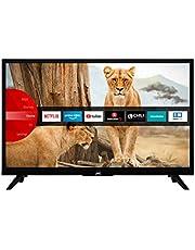 "JVC LT-24VH5965 telewizor 60 cm / 24"" (Smart TV z Prime Video/Netflix/YouTube, HD-Ready, Bluetooth, Triple-Tuner)"