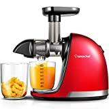 Juicer Machines, AMZCHEF Professional Cold Press Juicer Extractor Machine,Quiet Motor, Slow...