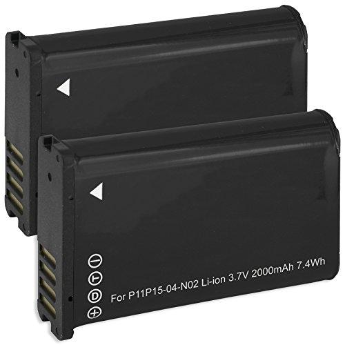 2x Baterías 010-11654-03 per Garmin VIRB, VIRB Elite / Monterra / Montana 600, 650... ver lista!