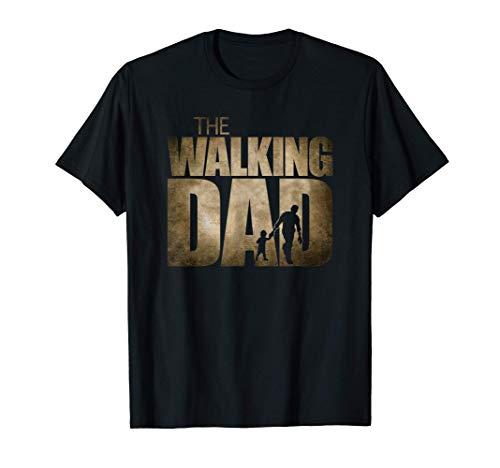 Uomo The Walking Dad Maglietta
