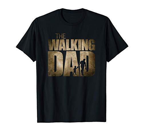 Hombre The Walking Dad Camiseta
