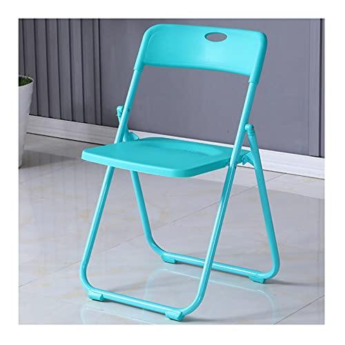 YAZHUANG8 Taburetes Plegables de Acero Premium, fáciles de Plegar, sillas de Mesa Plegables for balcón, Patio, jardín (Color : C)