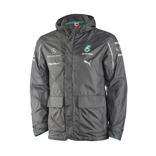 Puma Mercedes AMG Petronas F1 2014 Men's Team Jacket, Dark Shadow, Small