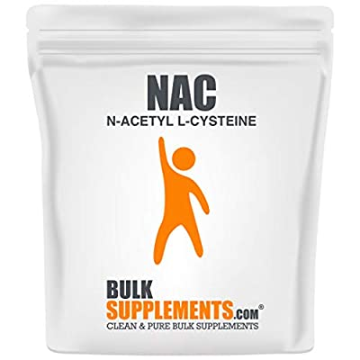 BulkSupplements NAC (N-Acetyl L-Cysteine) Powder (100 Grams)