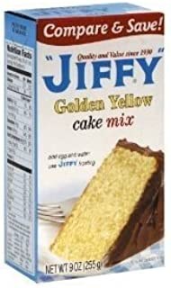 product image for Jiffy, Cake Mix, Yellow, 9oz Box (Pack of 6)