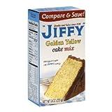 Jiffy, Cake Mix, Yellow, 9oz Box (Pack of 6)