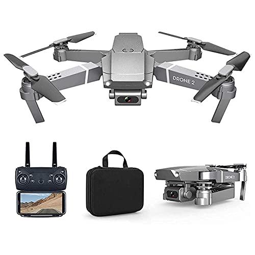 YYAI-HHJU Drone GPS, Drone GPS Multifunzione, Quadricottero con Videocamera 4K con Video della Videocamera Tempo di Volo di 15 Minuti, Mantenimento Dell'Altitudine, Decollo/Atterraggio con Una Chiave