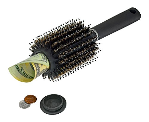 Southern Homewares Hair Brush Secret Hidden Diversion Safe Money Jewelry Storage Home Security