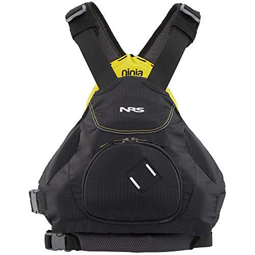 NRS 40013.04 Paddling Kayaking Watersport Ninja PDF Ultimate Low-Profile Jacket Size L/XL, Black