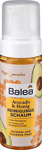 Balea Avocado & Honig Reinigungsschaum für normale und trockene Haut 150 ml