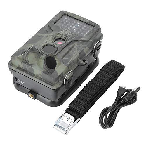 Alomejor achtercamera, 8 miljoen pixels, hoge-resolutie, jachtcamera, Wildlife scouting-camera met 2 inch TFT-scherm voor bewaking van wilde dieren in de buitenlucht