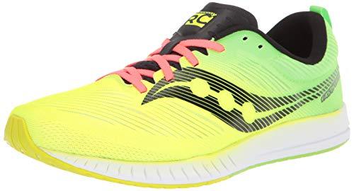 Saucony Fastwich 09 Zapatillas de Carretera o de Atletismo Ultraligeras con Soporte Neutro para Hombre Amarillo 44 EU