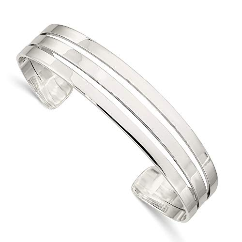 925 Sterling Silver Bangle Bracelet Cuff Expandable Stackable Fine Jewelry For Women Gifts For Her
