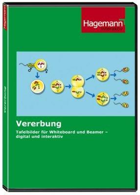Vererbung - Interaktive Tafelbilder auf CD-ROM für PC, Beamer und Whiteboard - Hagemann 192174 - Einzellizenz