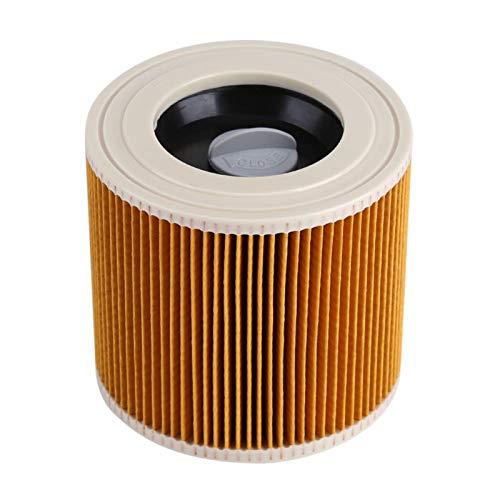 El filtro de aire reemplaza a las aspiradoras de aire húmedo y seco aptas para Karcher A2004/A2054/A2204/A2656/WD2.250/WD3.200/WD3.300