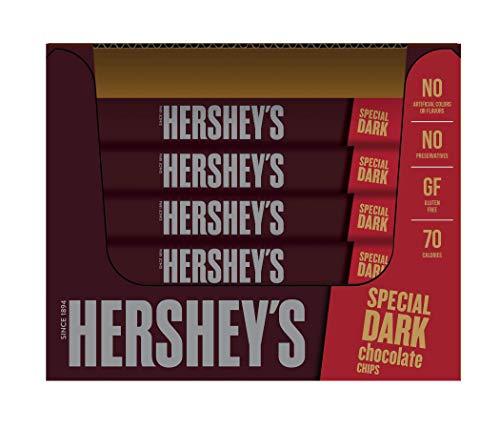 HERSHEY'S SPECIAL DARK chocolate Mildly Sweet Baking Pieces, baking supplies, 12 oz (12 pack)