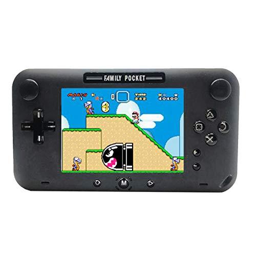 SODIAL GP40 Handheld Spiele Konsole Joystick Konsole Eingebaute 208 NES Spiele TFT HD Bildschirm Kinder Geburtstags Geschenk