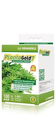 Dennerle PlantaGold 7 - Wuchsverstärker für Aquarienpflanzen - 100 Stück