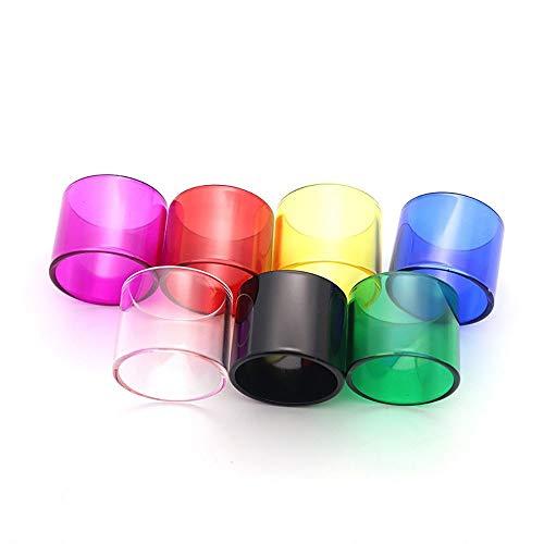 7 Teile / Paket Ersatzglasrohr For IJOY Tornado 150 / IJOY Tornado Hero / RAUCH Resa Prince / GEEKVAPE Griffin 25 Mini ( Frei von Tabak und Nikotin ) ( Farbe : Multi , Größe : For IJOY Tornado 150 )
