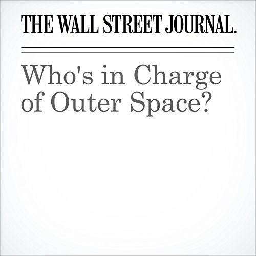 Who's in Charge of Outer Space? copertina