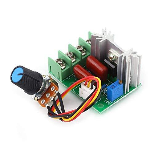 Drehzahlregler, 2000W AC 50-220V SCR Spannungsregler Modul, Ausgangsspannung Stabilisator Transformator mit Schalter, für Temperatur/Motor Drehzahlregler Licht Dimmer