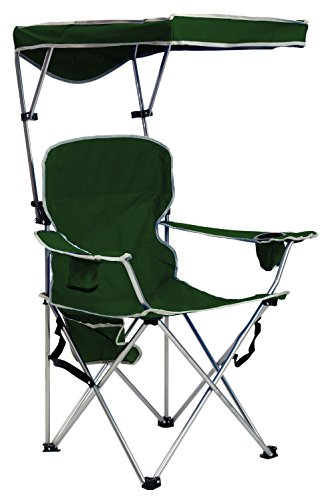 Quik Shade Full Size Shade Folding Chair, Forest Green