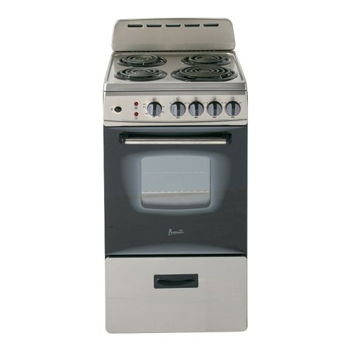Avanti ER20P3SG Freestanding 20' Electric Range, Stainless Steel