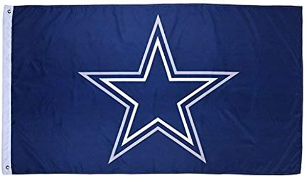New Dallas Cowboys Flag Exclusive NFL Merchandise For Indoor Outdoor Use 100 Polyester 3 X 5 Ft