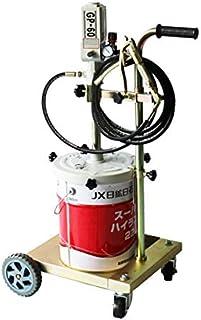 エアー式グリスポンプ ペール缶グリスポンプ 6ヶ月保証 SET-GP-60