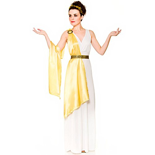 Ladies Ancient Greek Goddess Fancy Dress Costume