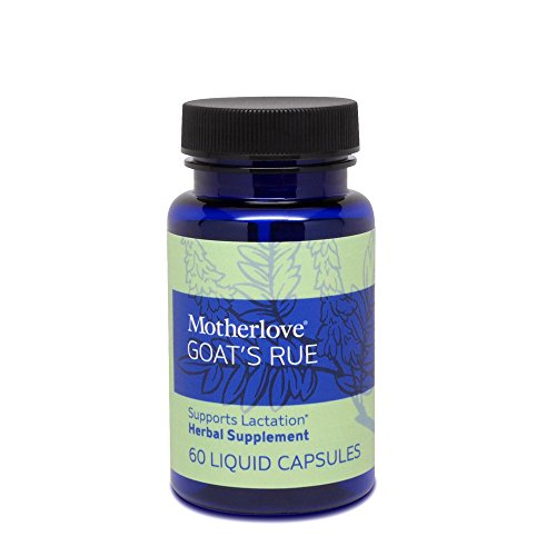 Motherlove Goat's Rue (60 ct.) Herbal Galactagogue Breastfeeding Supplement to Support Mammary Tissue Development & Milk Supply