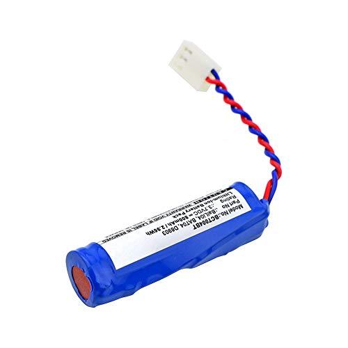 subtel® Qualitäts Akku kompatibel mit DAITEM D1201X / L3621 / L3622 / ST254, BatLi04 800mAh Ersatzakku Batterie
