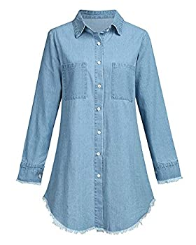 denim tunics for women