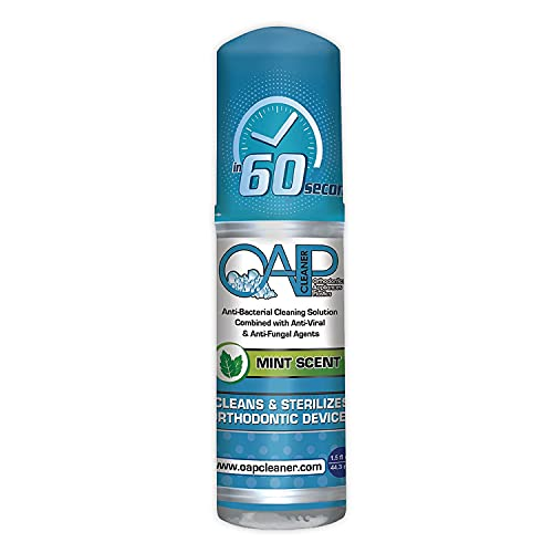 OAP Cleaner - Cleans and Sterilizes Removeable Dental and...